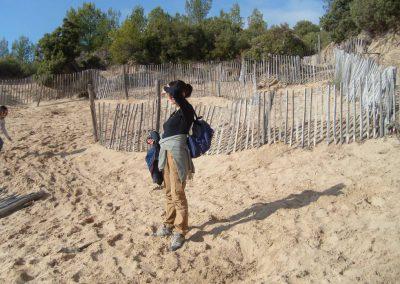 La colline de sable à Saint Cyr sur Mer