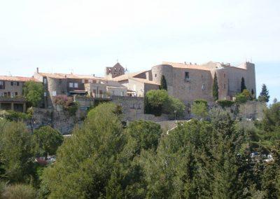 Le Castellet, vue du village