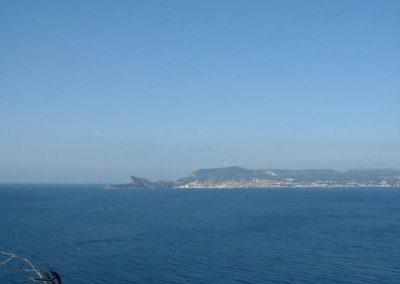 Le sentier du littoral à Saint Cyr sur Mer