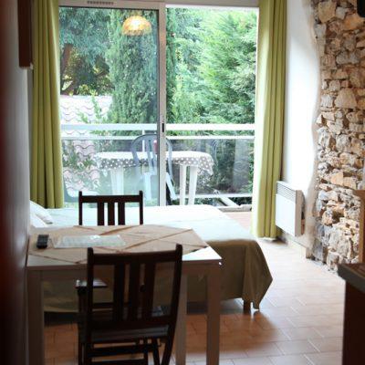 Studio Angèle, la terrasse
