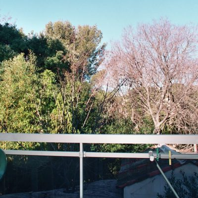 Studio Panisse, la terrasse