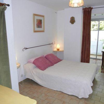 Studio Ugolin, la chambre et la terrasse