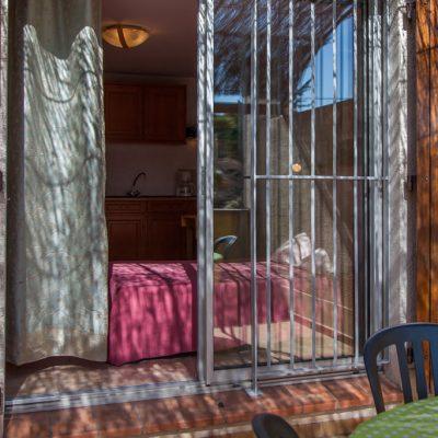 Studio Fanny, la terrasse